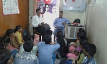 "DYFI Delhi State Committee started off with a new initiative of a ""DYFI study Centre""."