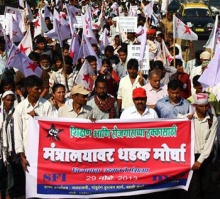 DYFI, SFI Hold Statewide Rally in Mumbai - 29th Nov 2013