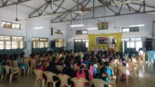 DYFI Tamil Nadu State Committee organised a Young Women's convention against the drastically incresing attacks on women.