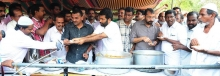 DYFI Kerala organized Beef fest at Trivandrum as a protest against the ban on beef in Maharashtra